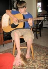 Boy Playing Guitar Profile Picture