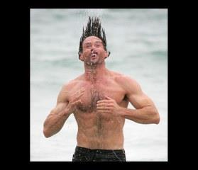 Funny Hugh Jackman WhatsApp DP
