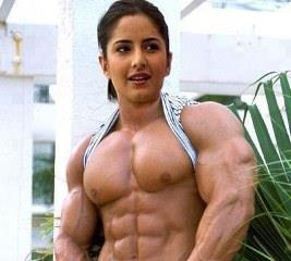 Katrina Kaif funny muscular woman highest paid Indian actress whatsapp pics
