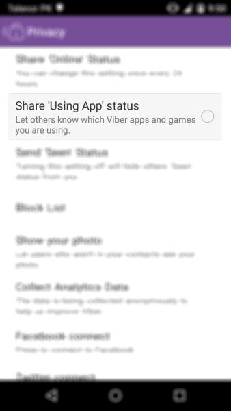 App status
