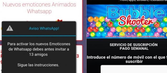 whatsapp cadena emoticonos animados