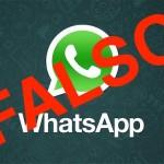 Bulo falso WhatsApp