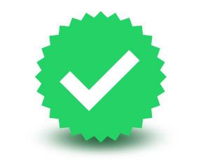 WhatsApp verified badge