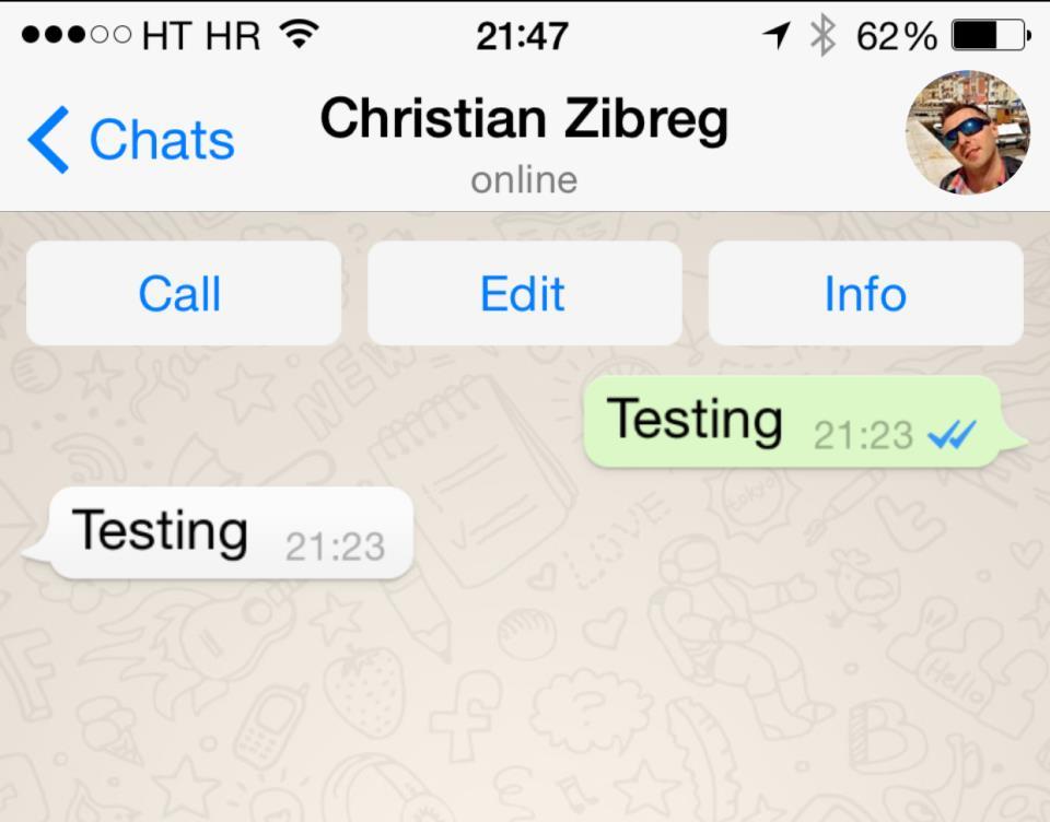WhatsApp (read receipt 001)