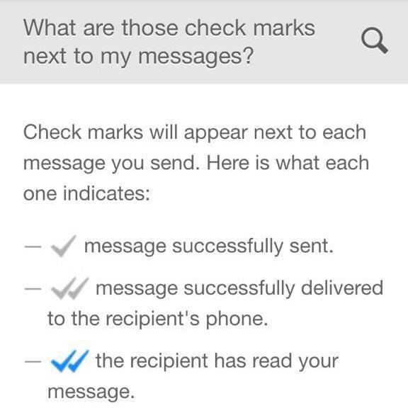 WhatsApp (read receipt FAQ)