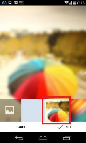 Default images for chat background in telegram