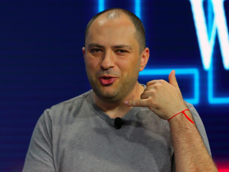 Jan Koum and Brian Acton WhatsApp