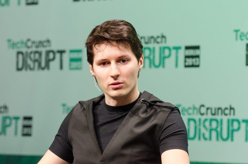 Pavel Durov at TechCrunch Disrupt Europe: Berlin 2013
