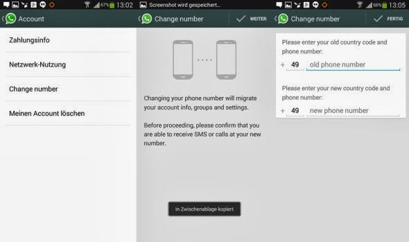 whatsapp-change number