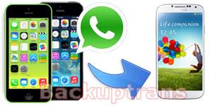 Transfer WhatsApp Messages from iPhone to Android