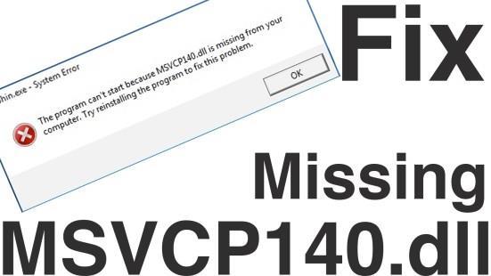 Fix Skype MSVCP140D.dll Is Missing Error