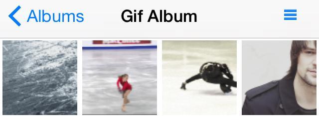 GifPlayer album