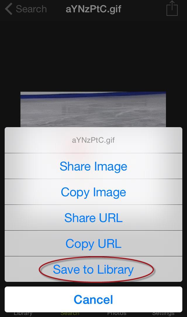 GIFwrapper save GIF