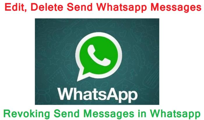 Recall Whatsapp Messages Feature