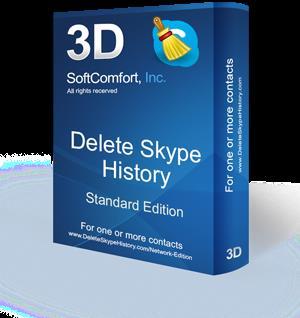 Delete Skype History box