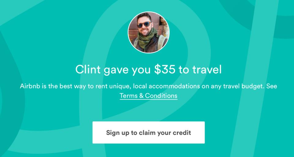 Free $35 Airbnb Code