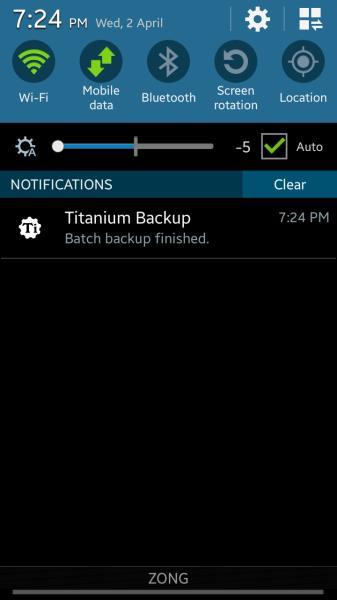 Batch notification confirmation