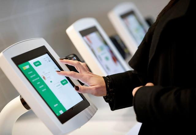 Subway store reimaging digital ordering