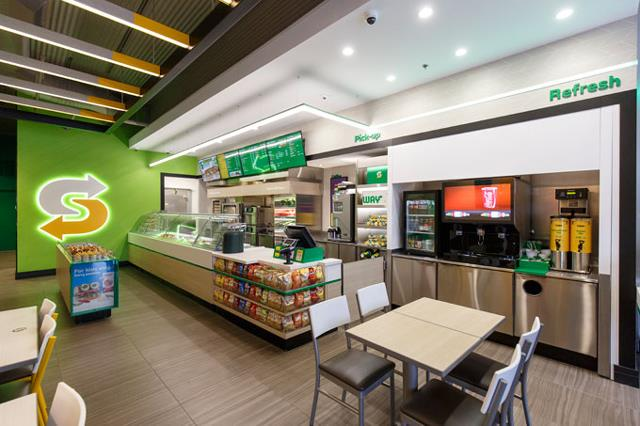 Subway store reimaging new look and feel 2017