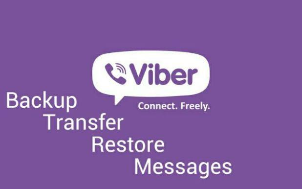 backup and transfer messages on viber
