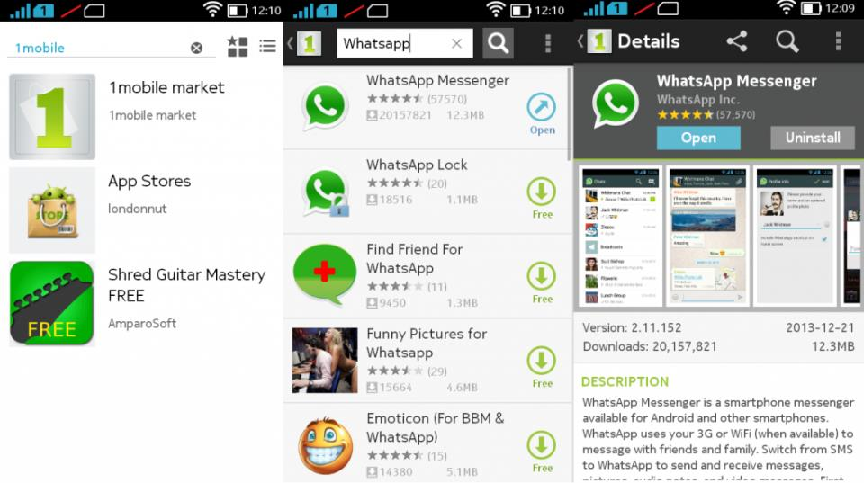 Whatsapp on Nokia X