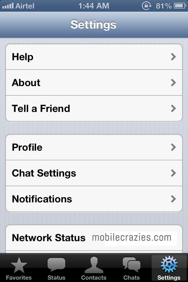 Hide WhatsApp Online Status 4