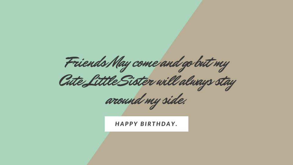 Happy Birthday Wishes To an Elder Sister