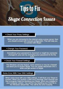 Skype-Connection-Issue
