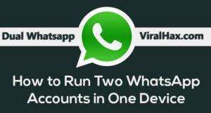 Use Dual Whatsapp On Single Mobile 10 home