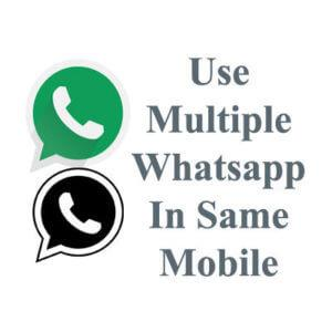 Use Dual Whatsapp On Single Mobile 6