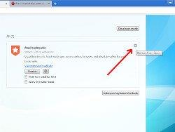 How to remove extension from Opera
