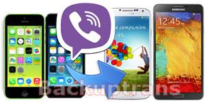 Transfer iPhone Viber Chat Messages to Android on Mac