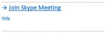 Skype Meeting 2