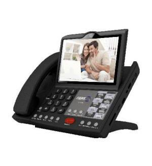 SIP Video Phone with Skype via WiFi