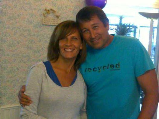Melody and her husband, Mike.
