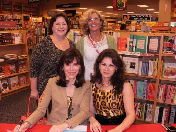 Melody and her aunt meeting the Doctors at a book signing.