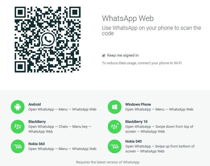 Quickly send and receive WhatsApp messages right from your computer