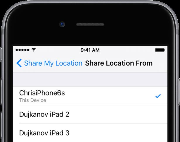 iOS 9 Share Location From iPhone screenshot 002