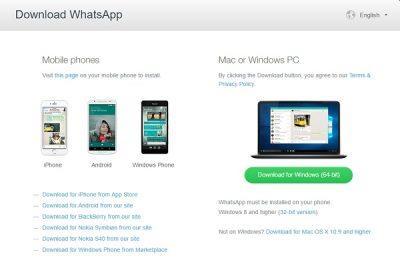 WhatsApp Desktop App for Windows PC