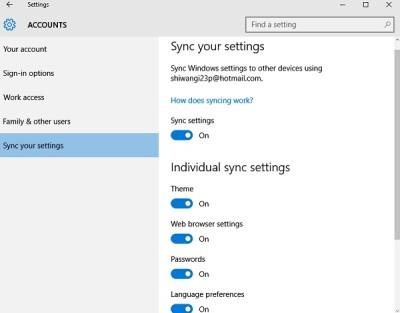 account settings in Windows 10 PC 7