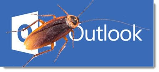 """Outlook 2016 """"processing"""" bug"""