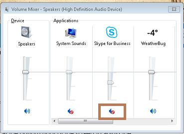 Skype Audio Settings