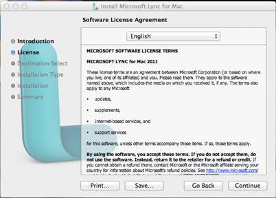 Lync for Mac 3