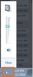 Taskbar Speaker Icon