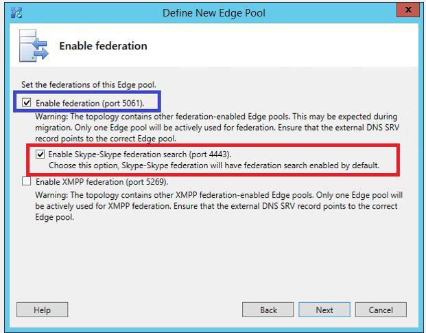 Enable Skype Federation