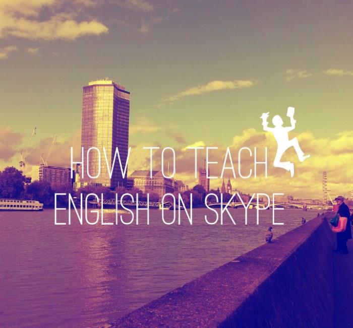 #teach #esl #teachonskype #skype #tesol