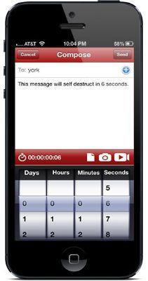 Wickr Compose Message