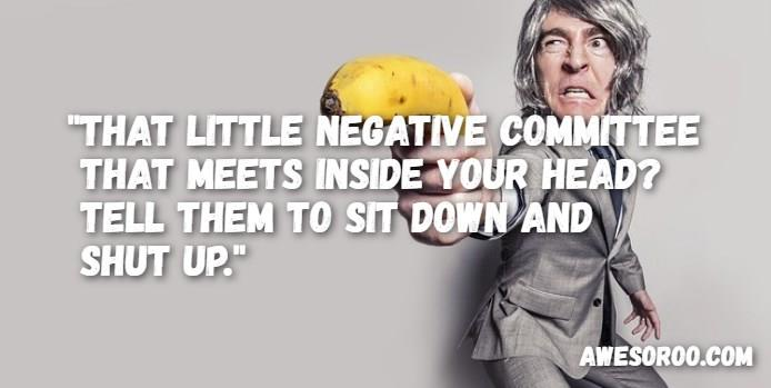 negative committee attitude quote