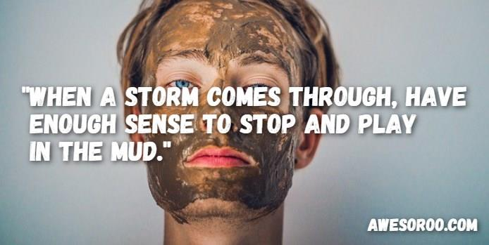guy in mud