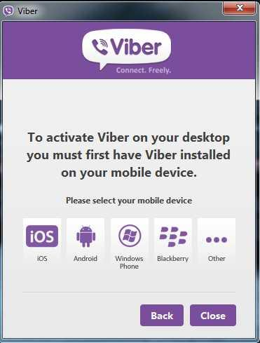 5 Viber for pc account online